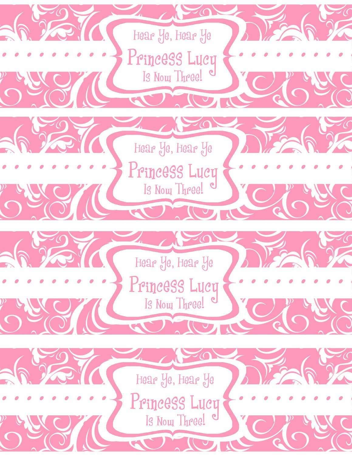 Free Printable Water Bottle Labels Template   Kreatief   Printable - Free Printable Water Bottle Label Template