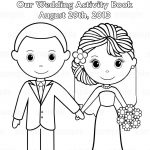 Free Printable Wedding Coloring Pages | Free Printable Wedding   Free Printable Personalized Wedding Coloring Book