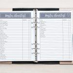 Free Printable Wedding Planner   A5 & Letter   Free Printable Wedding Organizer Templates