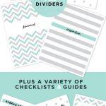 Free Printable Wedding Planning Binder | Blog | Botanical Paperworks   Free Printable Wedding Organizer Templates