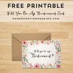Free Printable Will You Be My Bridesmaid Card | | Freebies | | Be My   Free Printable Bridesmaid Proposal
