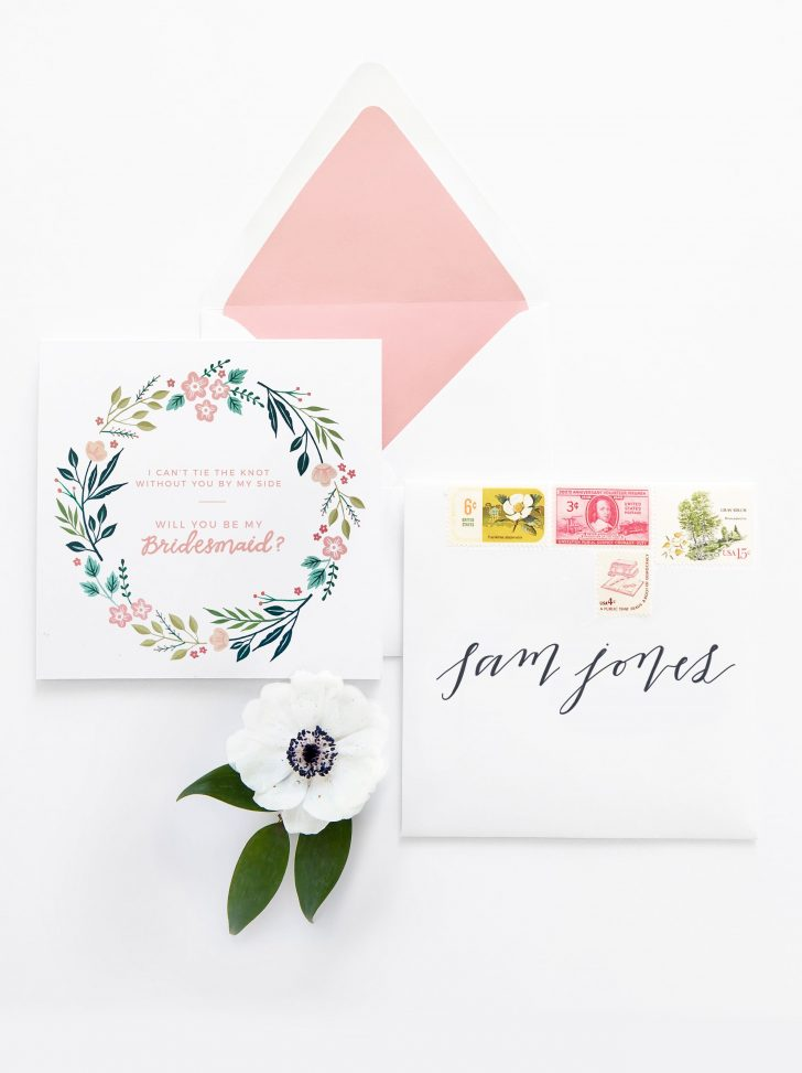 Will You Be My Bridesmaid Free Printable