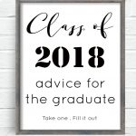 Free Printable With All Graduation Invitations. Advice For The   Free Printable Graduation Advice Cards