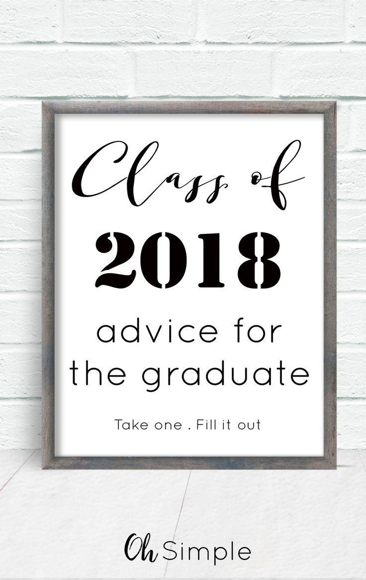 Free Printable With All Graduation Invitations. Advice For The - Free Printable Graduation Advice Cards