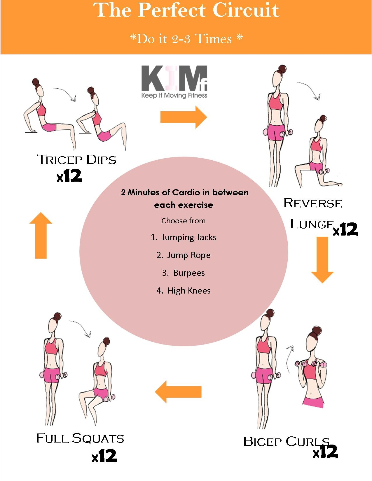 Free Printable Workouts – Keep It Moving Fitness - Free Printable Gym Workout Routines