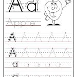 Free Printable Worksheet Letter A For Your Child To Learn And Write   Learning To Write Letters Free Printables