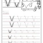 Free Printable Worksheet Letter V For Your Child To Learn And Write   Learning To Write Letters Free Printables