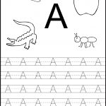 Free Printable Worksheets: Letter Tracing Worksheets For   Free Abc Printables For Kindergarten