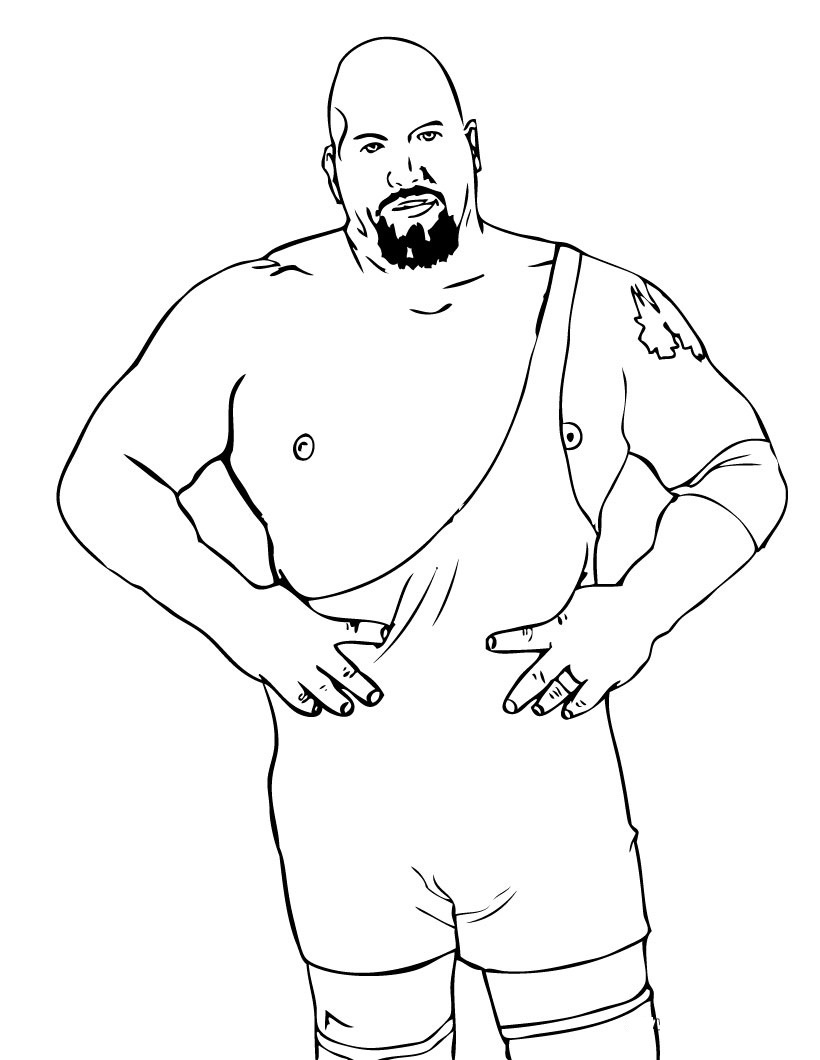 Free Printable Wwe Coloring Pages For Kids - Wwe Colouring Pages Free Printable