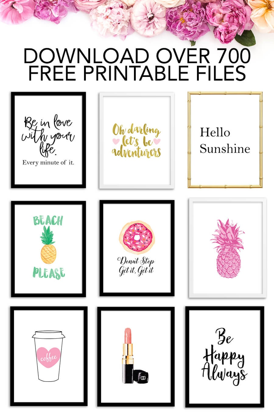 Free Printables - Download Over 700 Free Printable Files! - Chicfetti - Free Printables Com