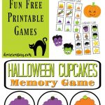 Free Printables! Fun Stuff For The Kids: Free Halloween Memory Games   Free Printable Halloween Games For Kids