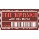 Free Printables – Movie Ticket | Little Victoria's Party   Free Printable Movie Tickets
