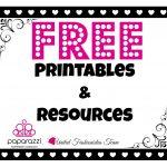 Free Printables | Paparazzi Accessories Facebook Parties | Paparazzi   Free Printable Live Sale Numbers