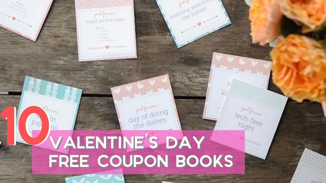 Free Printables | Valentine Coupon Books :: Southern Savers - Free Printable Valentine Books