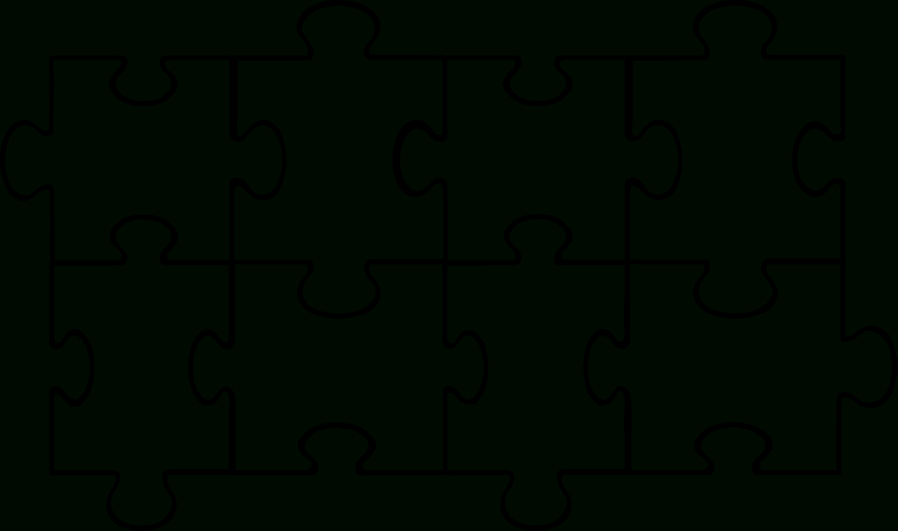 Free Puzzle Pieces Template, Download Free Clip Art, Free Clip Art - Free Printable Blank Jigsaw Puzzle Pieces