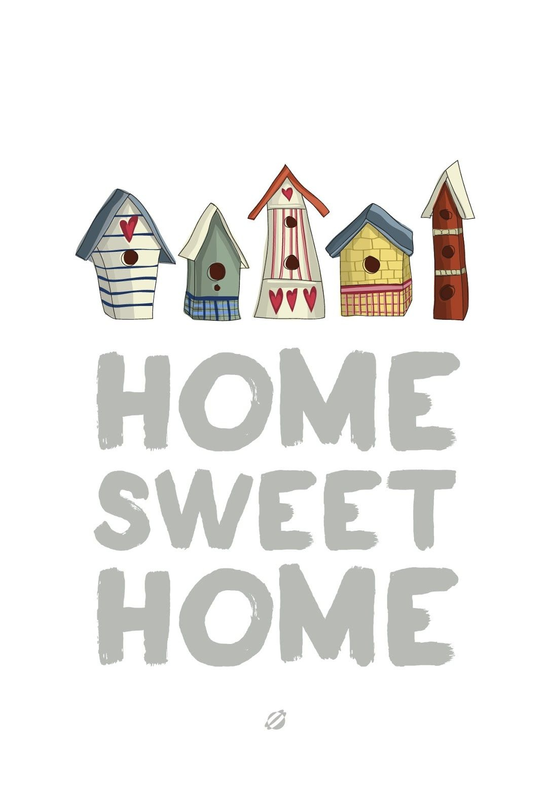 Free Quote Printable: Home Sweet Home / Lostbumblebee   Home Sweet - Home Sweet Home Free Printable