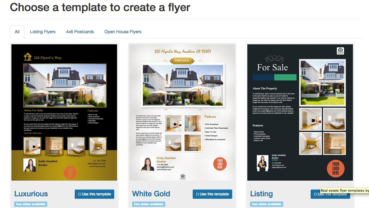 Free Real Estate Flyer Templates - Download & Print Today - Free Printable Real Estate Flyer Templates