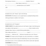 Free Rental Lease Agreement Templates   Residential & Commercial   Free Printable Michigan Residential Lease Agreement