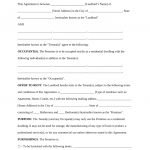 Free Rental Lease Agreement Templates   Residential & Commercial   Free Printable Residential Rental Agreement Forms