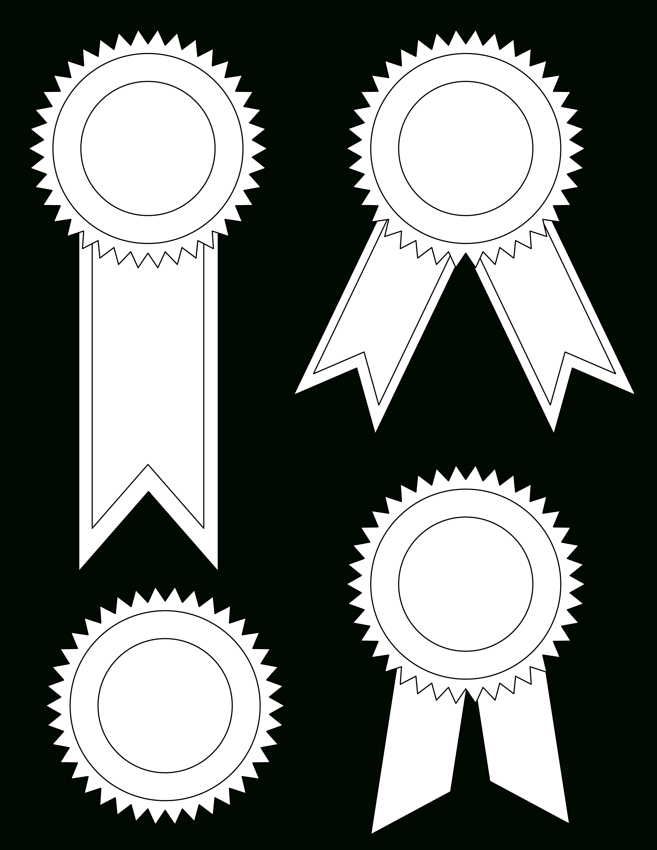 Free Ribbon Template, Download Free Clip Art, Free Clip Art On - Free Printable Ribbons