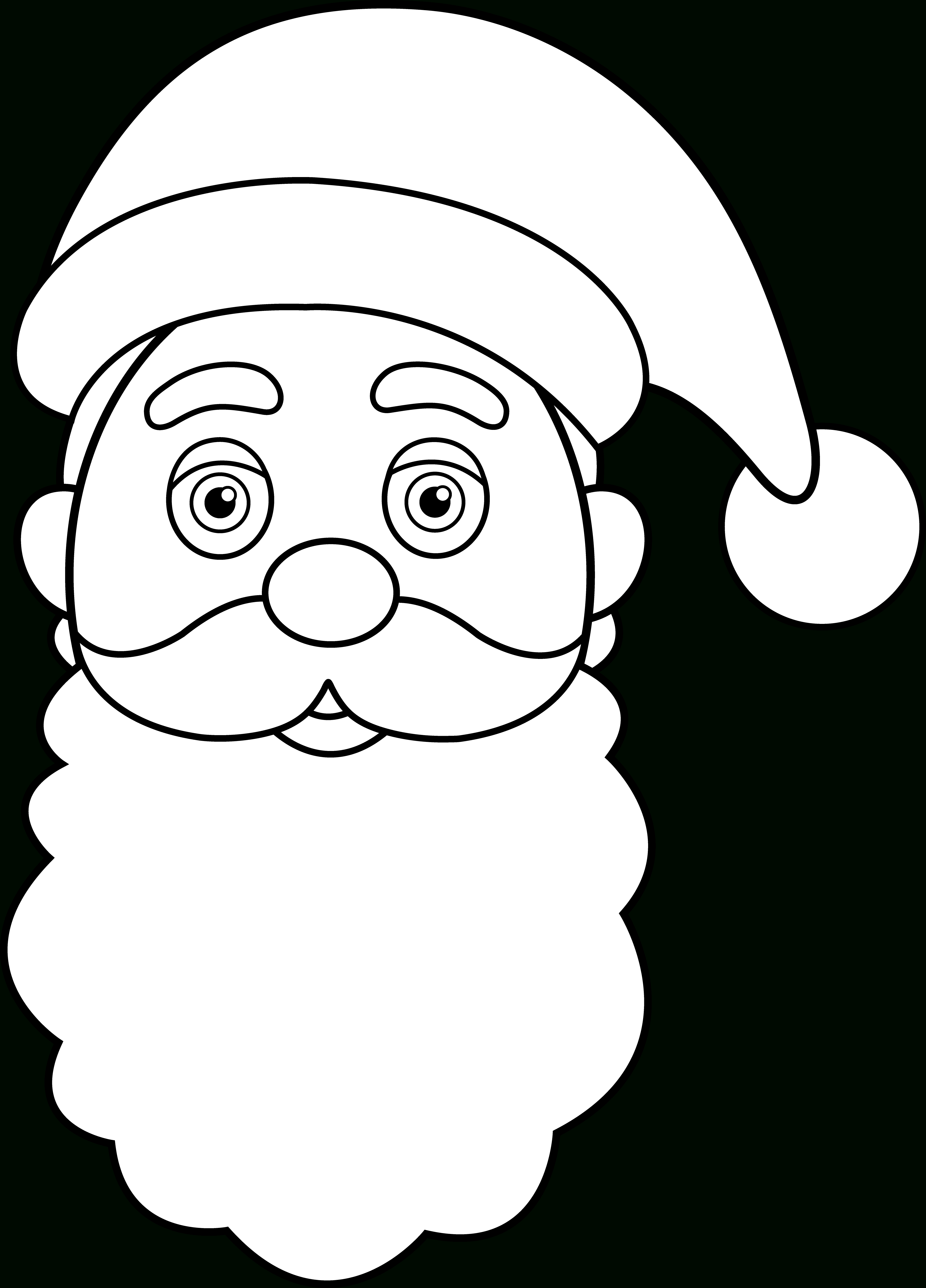 Free Santa Claus Face Pictures, Download Free Clip Art, Free Clip - Free Printable Santa Claus Face
