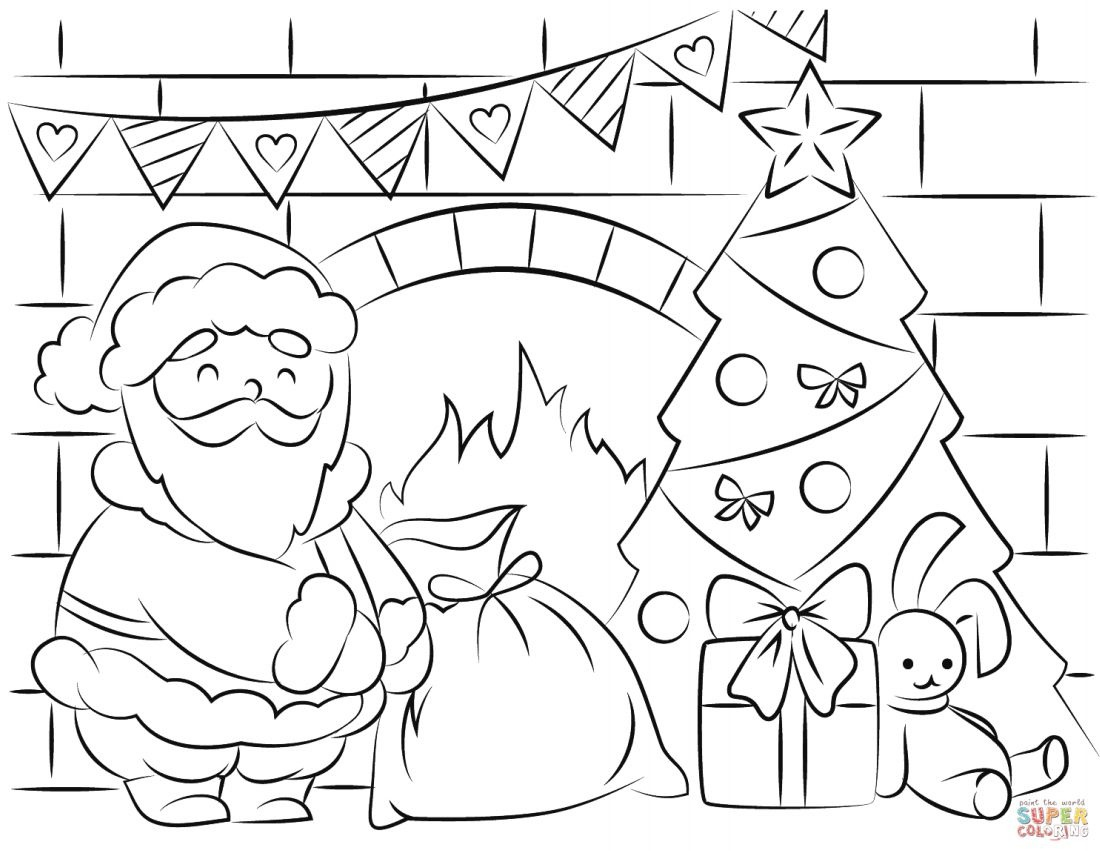 Free Santa Coloring Pages And Printables For Kids - Free Printable Santa Claus Face