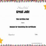Free School Certificates & Awards   Free Printable Reward Certificates