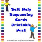 Free} Self Help Skills Sequencing Cards Printable Pack  Getting   Free Printable Cause And Effect Picture Cards
