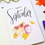 Free September Bullet Journal Printables ⋆ Sheena Of The Journal   Free Printable Watercolor Notebook Covers