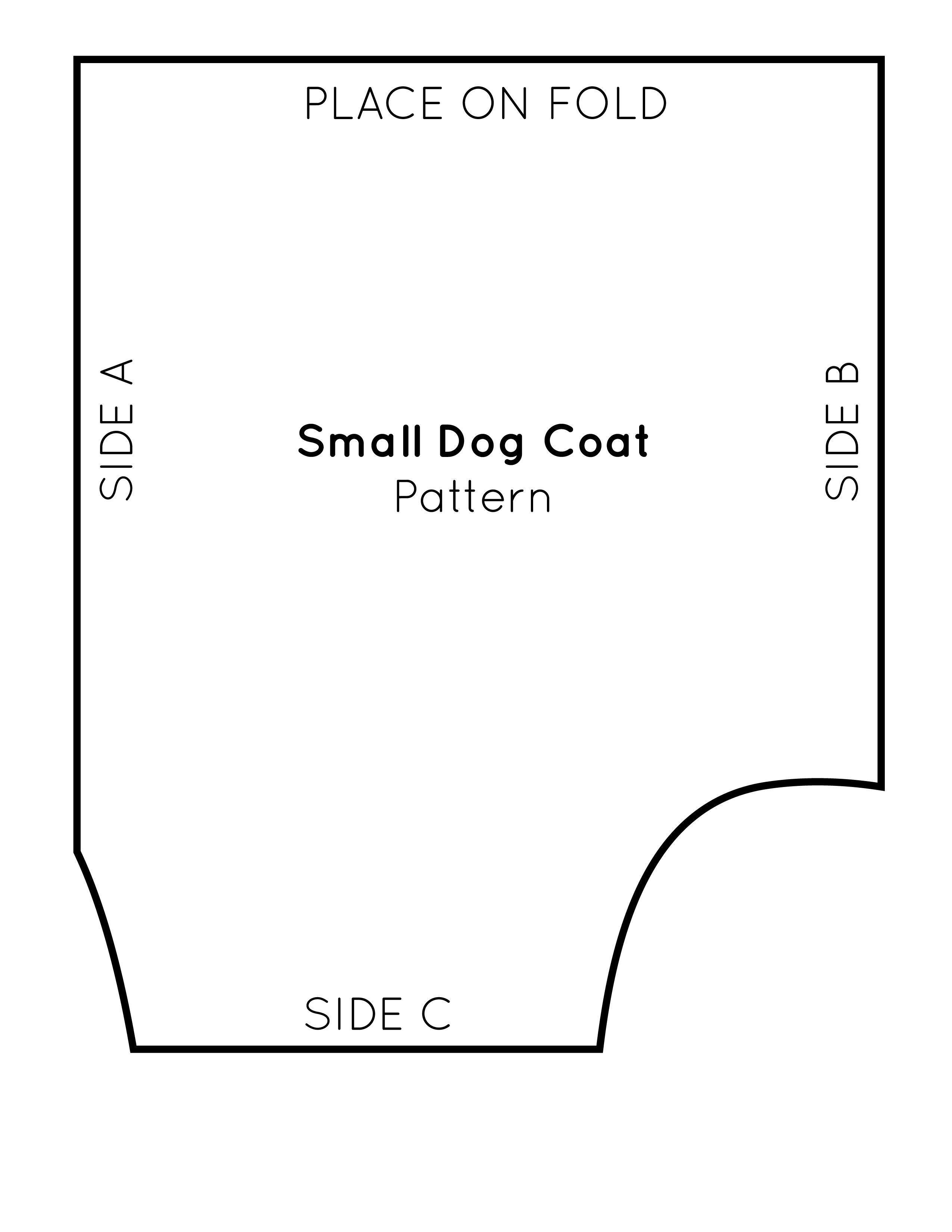 Free Sewing Pattern For A Warm, Weatherproof Dog Coat - Free Printable Dog Coat Sewing Patterns