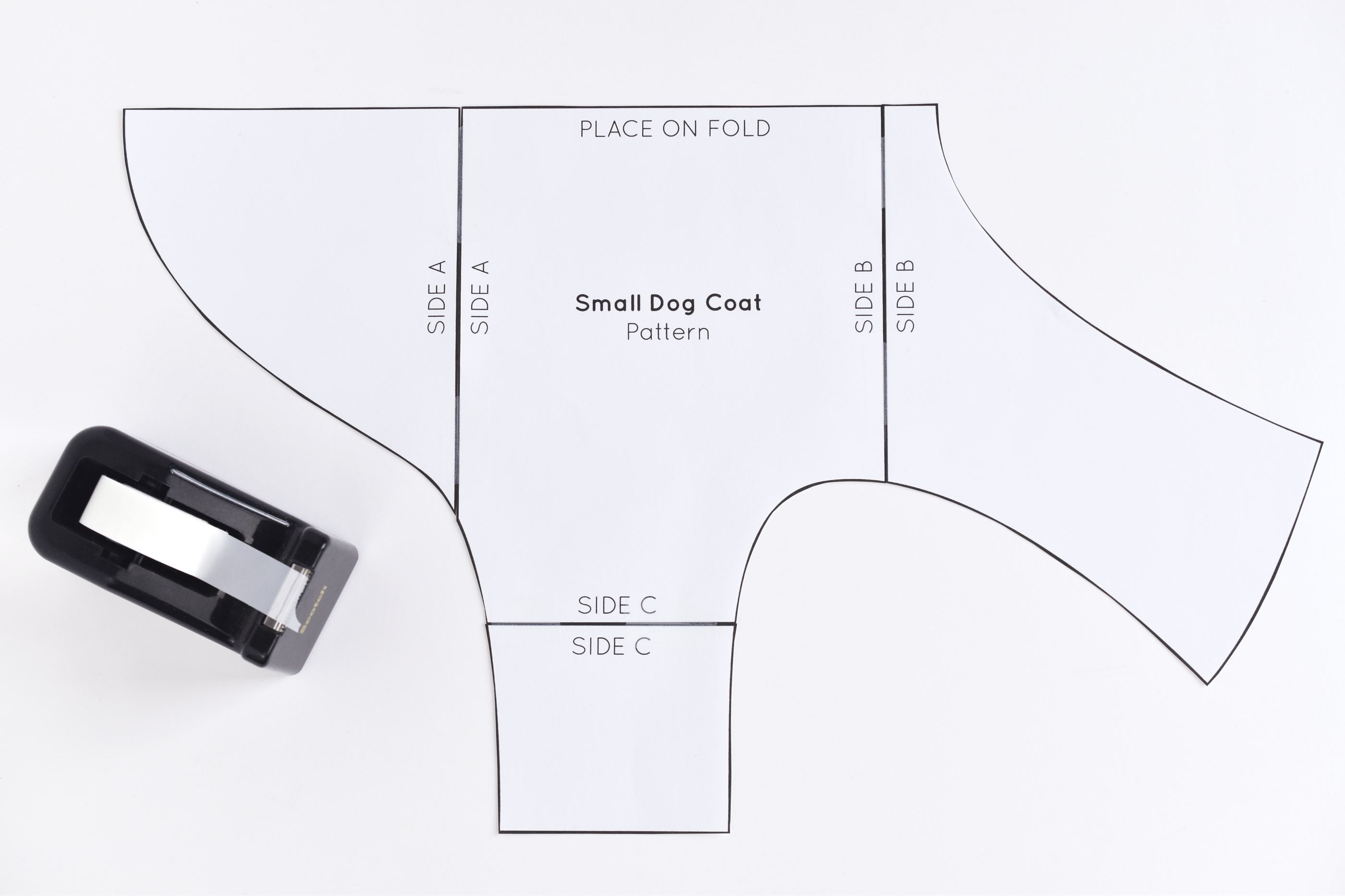 Free Sewing Pattern For A Warm, Weatherproof Dog Coat - Free Printable Sewing Patterns For Dog Clothes
