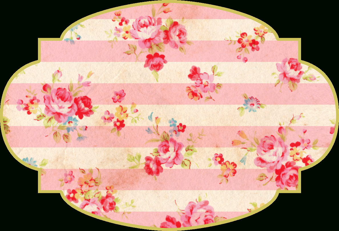 Free Shabby Floral Printable Tags - Free Pretty Things For You - Free Printable Floral Labels