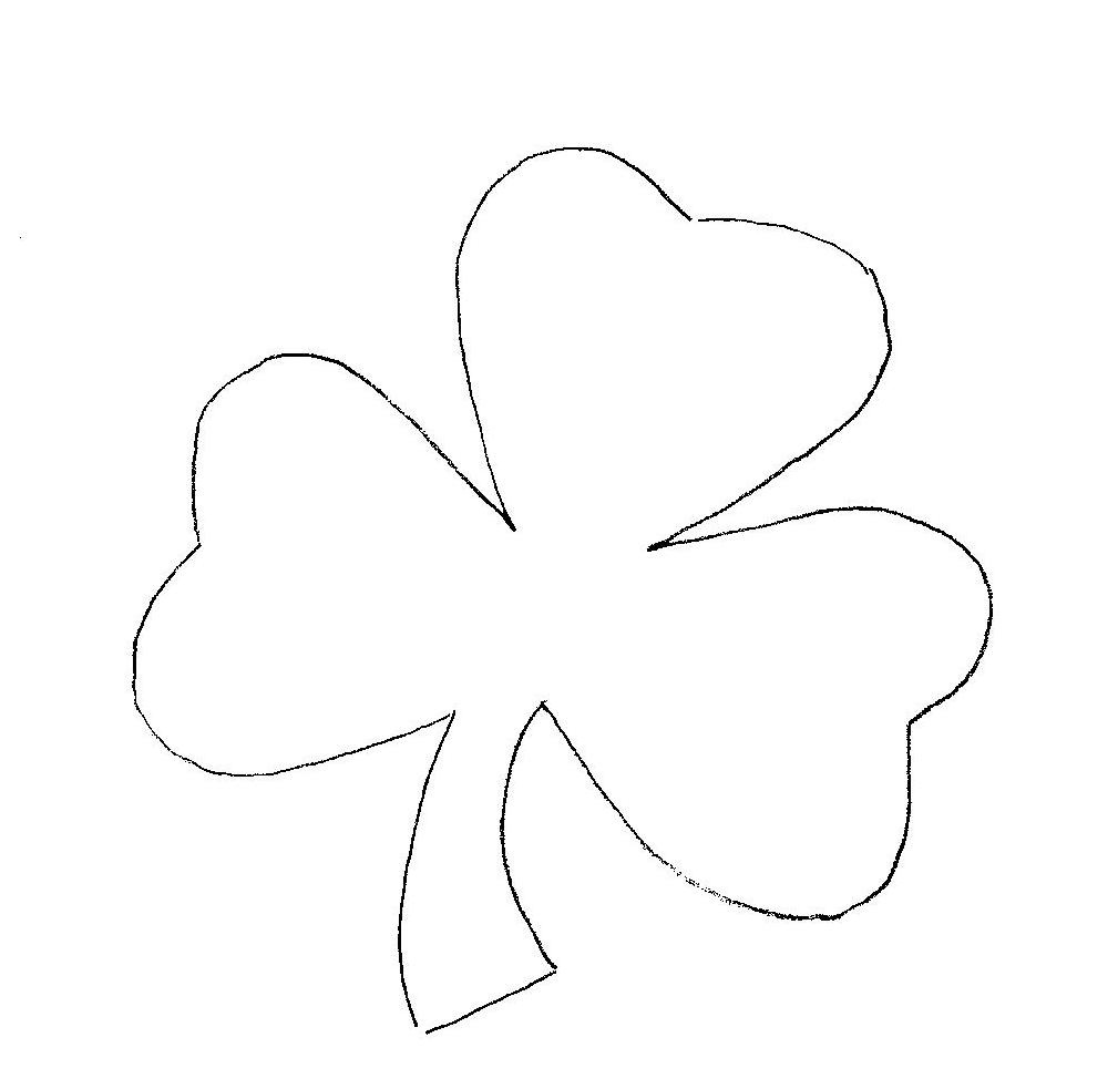 Free Shamrock Pictures, Download Free Clip Art, Free Clip Art On - Free Printable Shamrock Cutouts
