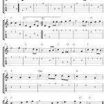 Free Sheet Music Scores: The Star Spangled Banner, Free Guitar   Free Printable Guitar Music