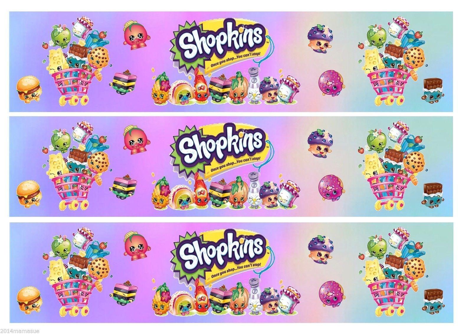 Free Shopkins Birthday Printables - Google Search | Zoey N Sofie - Free Shopkins Party Printables
