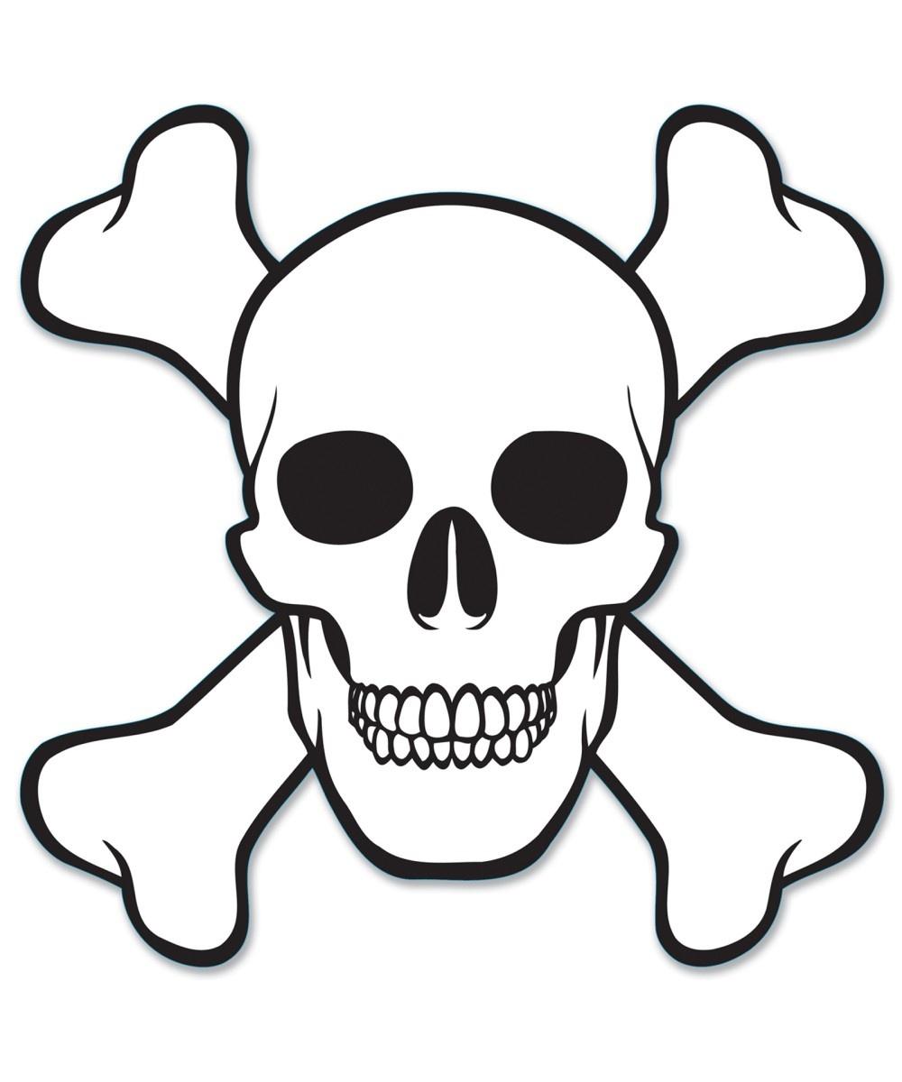 Free Skull And Crossbones Stencil, Download Free Clip Art, Free Clip - Skull Stencils Free Printable