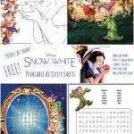 Free Snow White Printables: Activity Pages, Games And More   Mommy Mafia   Free Disney Activity Printables