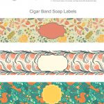 Free Soap Cigar Band Soap Wrappers Printables   Making Soap   Soap   Free Printable Cigar Label Template