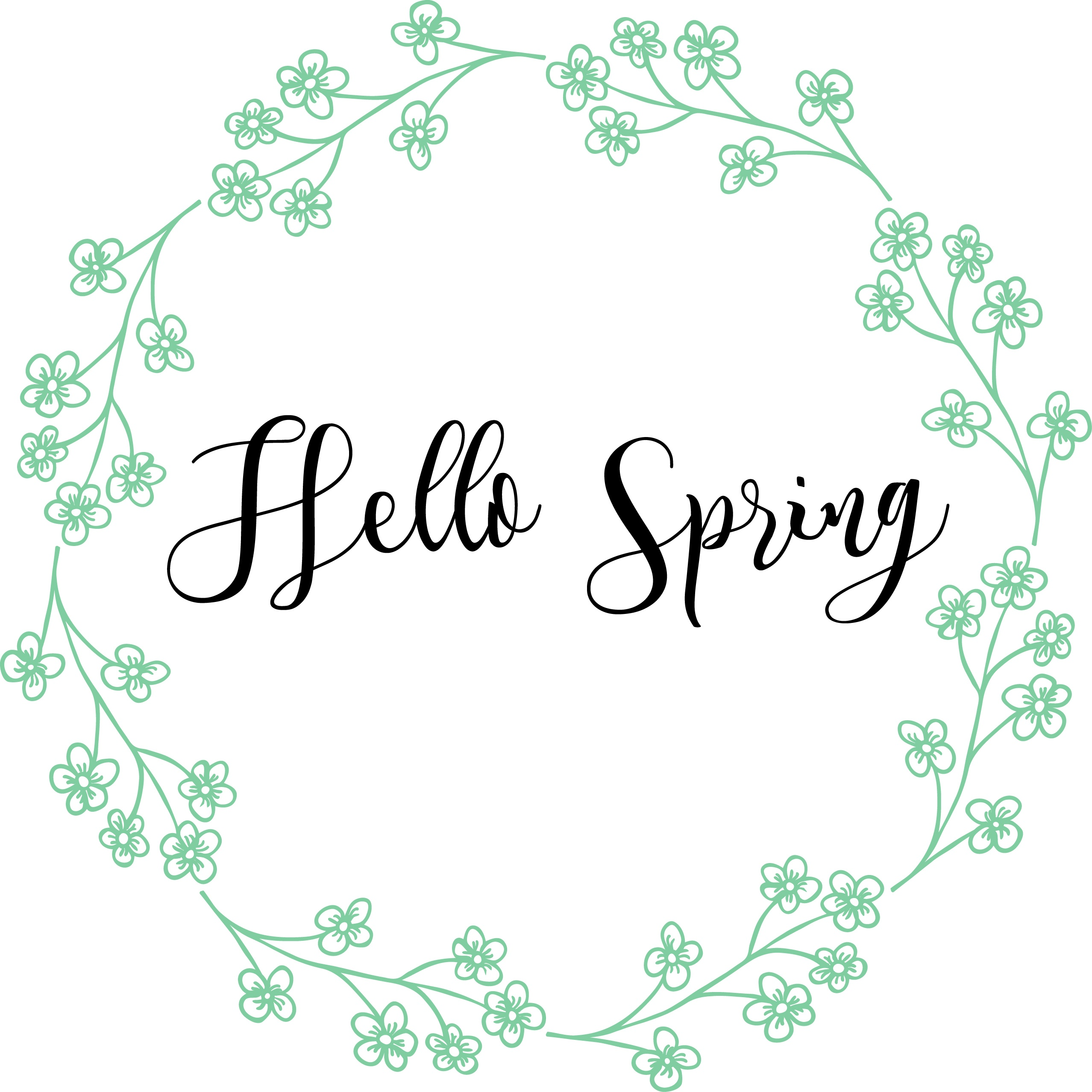 Free Spring Printables | Spring Decor | Nufun Activities - Free Printable Spring Decorations