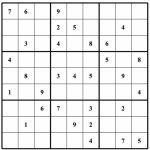 Free Sudoku Puzzles | Enjoy Daily Free Sudoku Puzzles From Walapie   Free Printable Suduko