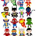 Free Superhero Party Clipart & Decoration Printables | Heroes Vbs   Free Superhero Party Printables