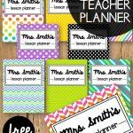 Free Teacher Planner   Playdough To Plato   Free Printables For Teachers