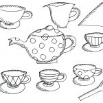 Free Teapot Coloring Book, Download Free Clip Art, Free Clip Art On   Free Printable Tea Cup Coloring Pages