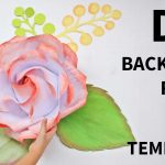 Free Template]: How To Make Large/giant Paper Rose   Youtube   Free Printable Templates For Large Paper Flowers