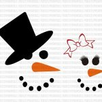 Free Template Snowman Face Template Printable | Svg | Snowman Faces   Free Printable Snowman Face Stencils