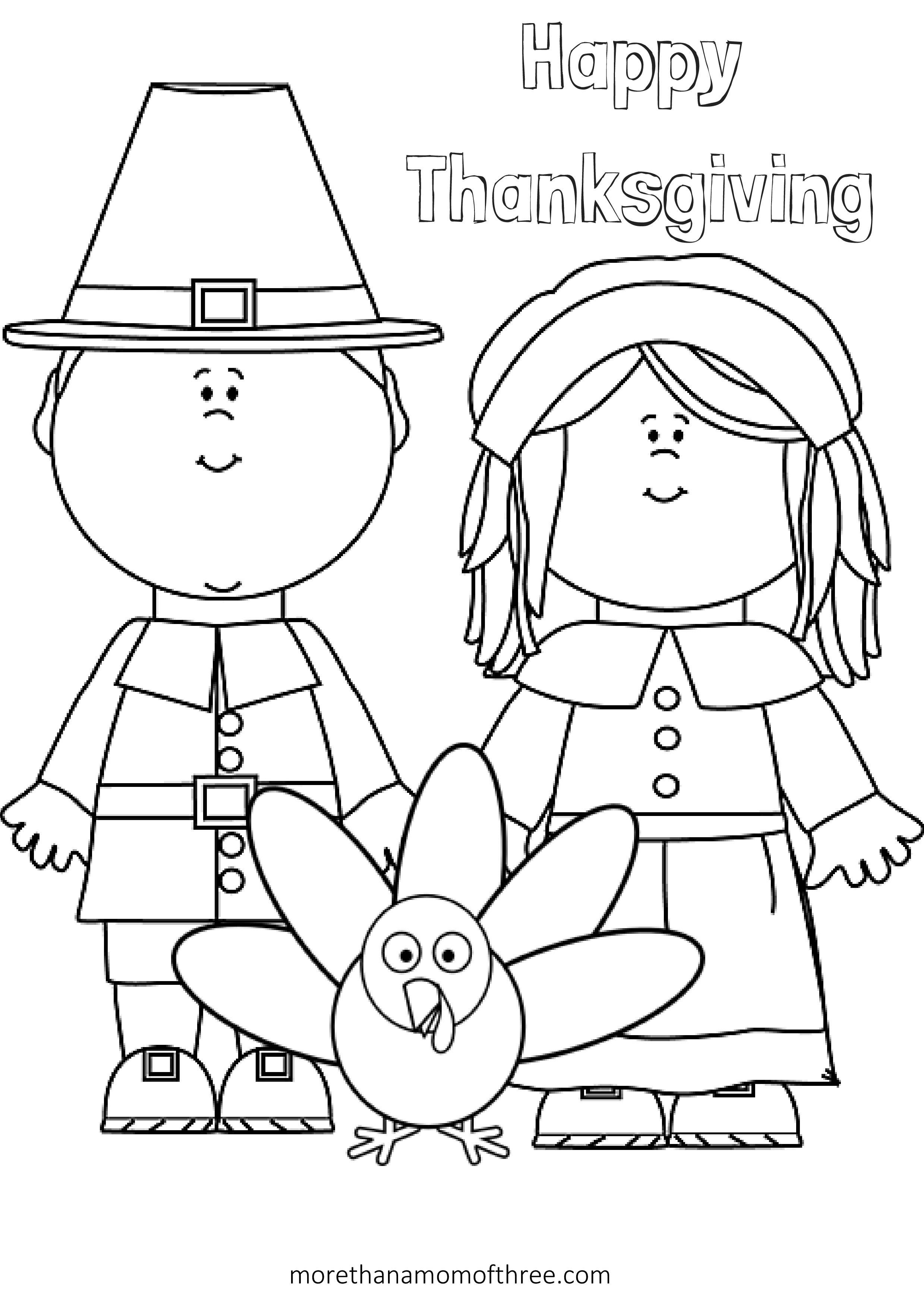 Free Thanksgiving Coloring Pages Printables For Kids | Thanksgiving - Free Printable Thanksgiving Crafts For Kids
