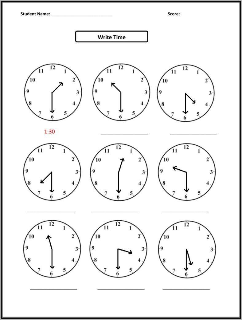 Free Third Grade Math Worksheets Elapsed Time   Second Grade   2Nd - Elapsed Time Worksheets Free Printable