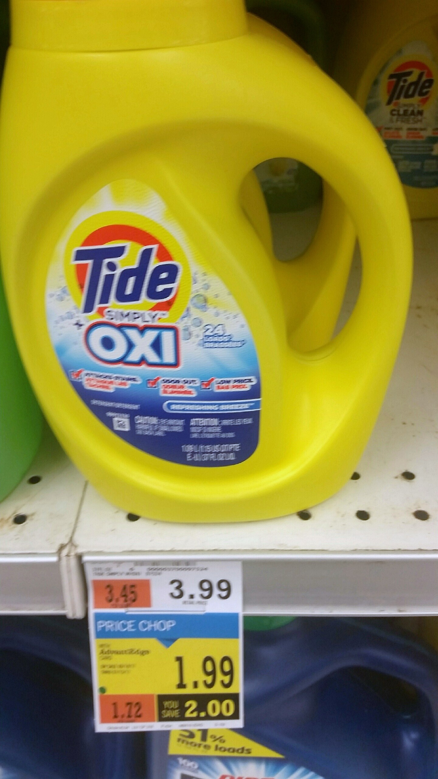 Free Tide Simply Oxi Detergent At Price Chopper!!! - My Momma Taught Me - Free Printable Tide Simply Coupons