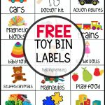 Free Toy Bin Labels   Free Printable Labels For Storage Bins