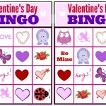Free Valentine Bingo Game Printable Collection For Kids   Valentine Bingo Game Printable Free